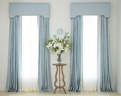 Check out our custom cornice selection for the very best in unique or custom, handmade pieces from our curtains & window treatments shops. French Door Curtains, Curtains With Blinds, Panel Curtains, Valances, Curtain Panels, 108 Inch Curtains, Custom Drapes, Custom Windows, Custom Shower Curtains
