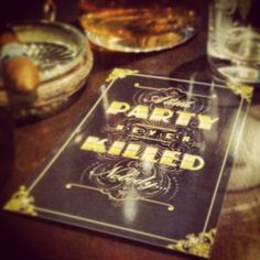 Gatsby Party Invitations / Wedding Invitations