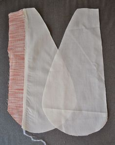 My example shows a skirt pocket with a 16cm length opening edge bordered by 1cm width welts, although obviously all measurements can easily be altered to give any width of welt or pocket desired.  App