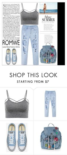 """Romwe"" by you-da-one-66 ❤ liked on Polyvore featuring Topshop"