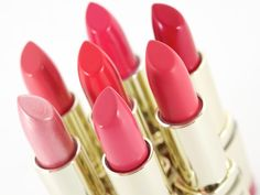 Milani Color Statement Lipsticks: Pinks