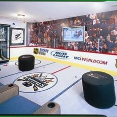 Hockey Design Ideas, Pictures, Remodel, and Decor