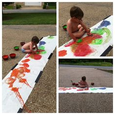 Twodaloo - http://www.two-daloo.com/2013/04/09/toddler-art-tuesdays-fun-with-fingerpaint/