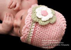 Crochet Hat Pattern - Shell Trim Baby Hat Crochet Pattern No.104 Newborn to 5 yrs. $4.00, via Etsy.