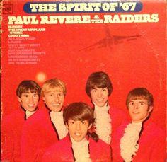 """Paul Revere & The Raiders Spirit of '67 12""""LP MONO Vinyl Record Columbia CL 2595 #BritishInvasionBritpop"""