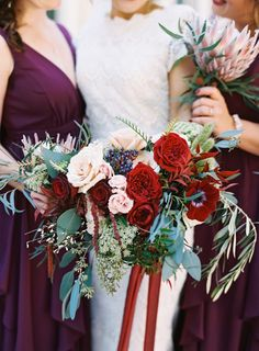 Want in on a little secret? SMP may have a thing forbeautiful blush weddings (and believe me, that'll never fade) but right now we're hankering from some solid jewel tones. And Graham Terhune must've felt that craving because he delivered with