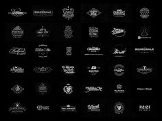 Freelance Logo design 2012 -2013 by Joe White, Yeoldestudio.co.uk