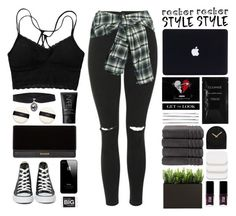 """Kings and the queens of the new broken scene"" by igedesubawa ❤ liked on Polyvore featuring Topshop, Faith Connexion, New Look, NARS Cosmetics, Balmain, Converse, Cleanse by Lauren Napier, Cara, Christy and LEFF Amsterdam"