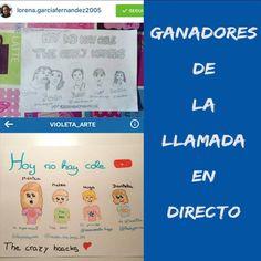 Y estos son los GANADORES DEL CONCURSO!!!! @lorena.garciafernandez2005 @violeta_arte .Mañana me pongo en contacto con vosotras para concertar día y hora. GRACIAS A TODOS POR PARTICIPAR!!!