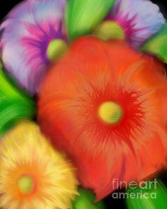 Big Blooms by Christine Fournier