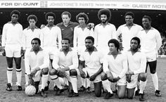 The black team photographed in 1979