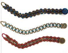 Разные браслеты из бисера