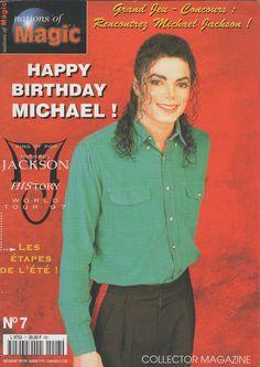 Michael Jackson NATIONS OF MAGIC Magazine Nr. 7-1997