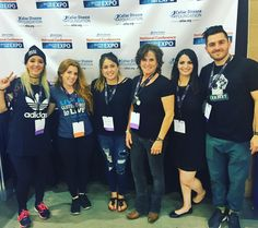 Julien Solomita and Jenna marbles at the Gluten-free Expo!!!