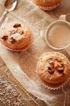 Pastry And Bakery, Something Sweet, Bread Baking, Baby Food Recipes, Muffins, Food And Drink, Cupcakes, Sweets, Breakfast
