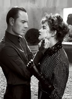 Michael Fassbender and Natalia Vodianova photographed by Craig McDean..