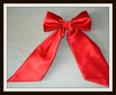 How to make a bow from fabric
