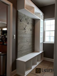 Mudroom Ideas - Farmhouse Mudroom Decor and Designs We Love - Mudroom Ideas and Mudroom Entryway Ideas (in farmhouse style) DIY mudroom designs for you - Garage Entryway, Entryway Storage, Bedroom Storage, Entryway Decor, Garage Storage, Entryway Ideas, Mudroom Storage Ideas, Kids Storage, Small Mudroom Ideas