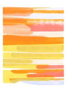 Erik Barthels Whorl, 2014 watercolor on paper 12 x 9 in.
