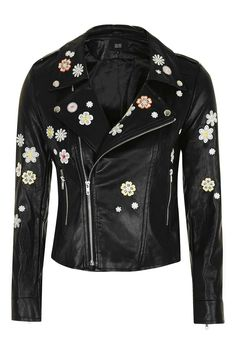 **Daisy - PU Jacket by Goldie
