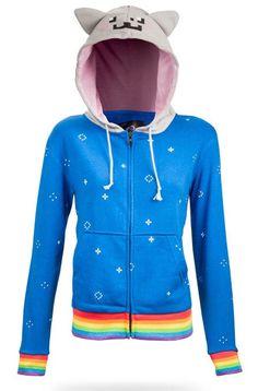Nyan Cat hoodie :3