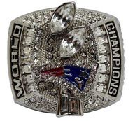 Bottom Price for 2004 Replica Super Bowl New England Patriots Championship Ring for Fans