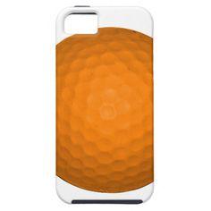 Orange Golf Ball iPhone 5/5S Cover