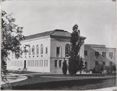 Library. 1935. Ammons Hall. The building now called Laurel Hall. UHPC, University Archive, Archives and Special Collections, CSU, Fort Collins, CO