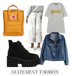 """Statement T-shirt contest"" by niahisabeld ❤ liked on Polyvore featuring Fjällräven and ADAM"