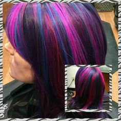 Goldwell color by Toria. Fabulous!!!!