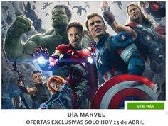 Día Marvel en Zavvi con descuentos especiales  ¡¡CHOLLO!! Camisetas Marvel por menos de 14€ y envío gratis. Celebra el dia Marvel en Zavvi con ofertas exclusivas solo HOY 23 de abril. ¡No te lo pierdas!