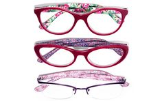 3 muses, 3 distinctive patterns, inspired by 3 different cultures. This is our vibrant collection. Liu Shishi, Everyday Glasses, South Africa, Eyewear, Fashion Accessories, Product Launch, Vibrant, Vogue, Collections