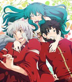 Lum, Inuyasha and Ranma crossover.