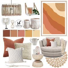View this Interior Design Mood Board and more designs by Shannah Lea Interiors on Style Sourcebook Living Room Decor, Bedroom Decor, Bedroom Stuff, Bedroom Inspo, Dining Cabinet, Basement Bedrooms, Fireplace Accessories, Curtains With Blinds, My New Room