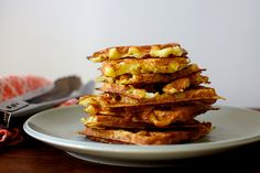 latke waffles   smittenkitchen.com