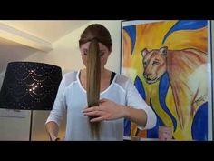 Tuto: Se couper les cheveux soi-même en dégradé - YouTube