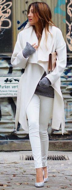 Ótima combinação de branco com cinza