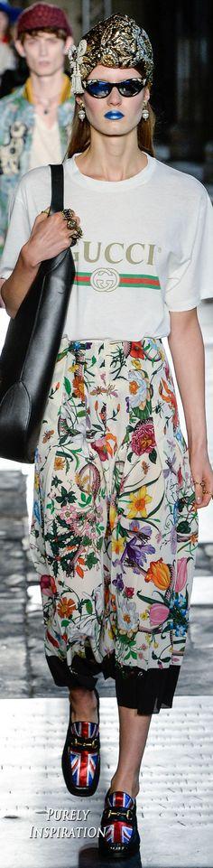 Gucci Resort 2017 Women's Fashion RTW | Purely Inspiration