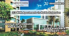 The most prevalent and perfect property at the imaginary designed fresh residential project Patel Neotown Noida Houses and 1/2/3/4  bhk Flats at Noida Extension. The once more luxury project is done and offering the fantastic luxury qualitative facilities and features in its 1 BHK, 2 BHK, 3 BHK, 4 BHK apartments, flats and homes in various sizes at Noida.  Patel Neo town Noida Extension Amenities:-  24*7 Power Back up and water supply 	Eco Friendly environment 	Security under CCTV cameras…