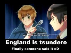 Demo: England is tsundere by Rini-chi