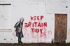 Banksy: Ahhh, irony... :}