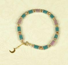 peyote tube & bead bracelet