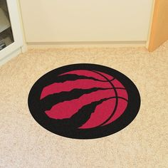 NBA Officially licensed products Toronto Raptors Mascot Mat Looking for a unique rug to decorate your home or office with? Mascot Mats by Sports Licensing Sol Toronto Raptors, Nylon Carpet, Mascot Design, Unique Rugs, Carpet Tiles, True Colors, Decorating Your Home, Nba, Area Rugs