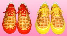 Ice Cream Waffles sneakers from Rap producer Pharrell Williams the brand called Billionaire Boys Club/ Ice Cream.