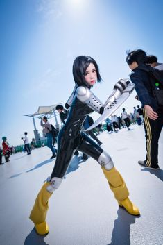 Some Very Good Battle Angel Alita Cosplay Asian Cosplay, Epic Cosplay, Amazing Cosplay, Cosplay Outfits, Cosplay Girls, Cosplay Costumes, Deadpool Pikachu, Latex Cosplay, Battle Angel Alita