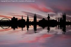 Image result for glasgow skyline silhouette