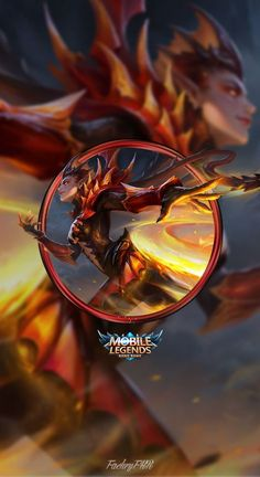 Wallpaper Phone Karrie Dragon Queen by FachriFHR on DeviantArt Mobile Legend Wallpaper, Hero Wallpaper, Wallpaper Telefon, Alucard Mobile Legends, Foto 3d, Legend Games, The Legend Of Heroes, Making Money On Youtube, Videogames