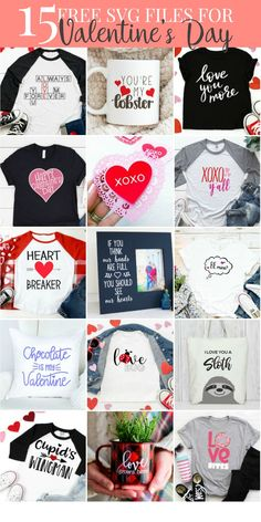 Make this darling Valentine's Day shirt with the FREE XOXO y'all SVG from Everyday Party Magazine #SVG #DIY #ValentinesDay