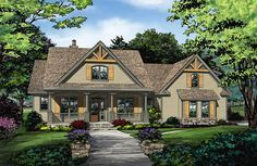 House Plan 1422 has been named The Sawyer and is now in progress! See the floor plan on our house plans blog! #WeDesignDreams