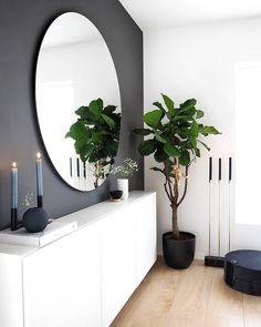 home interior designs Home Living Room, Living Room Decor, Bedroom Decor, Interior Design Living Room, Living Room Designs, Flur Design, Hallway Designs, Hallway Decorating, Home Decor Inspiration